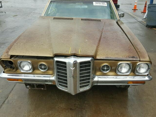 Outside front car view - 1970 Brown Pontiac Grand Bonneville donated to Kars For Kids