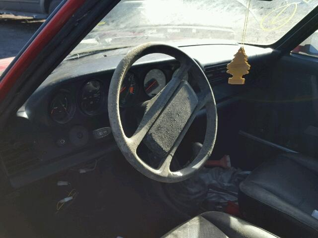 Inside dashboard view - 1986 Red Porsche 911 Carrer donated to Kars For Kids