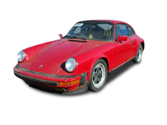1986 Red Porsche 911 Carrer donated to Kars For Kids - front right view