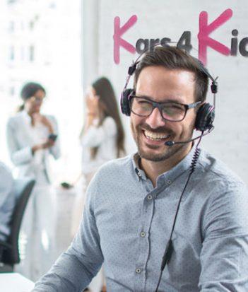A Kars4kids customer service rep