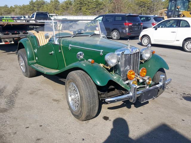 1952 Mg Td Green - front right view