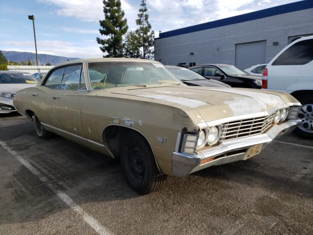 1967 Chevrolet Impala Brown  - front right view