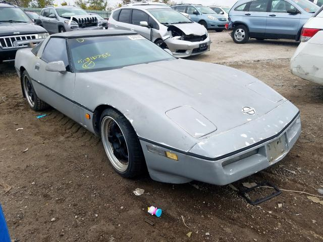 1989 Chevrolet Corvette Gray - front right view