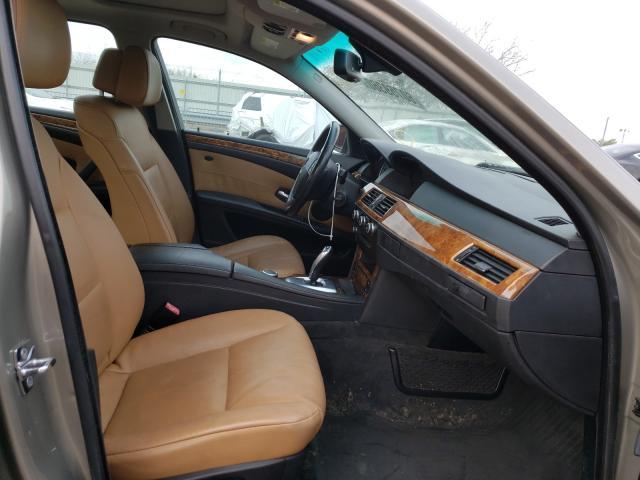 2008 Bmw 5 Series Beige  - interior - front
