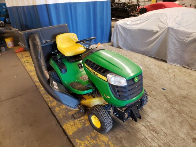2015 John Lawnmower Green  - front right view