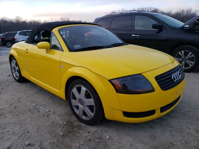 2001 Audi Tt Yellow  - front right view