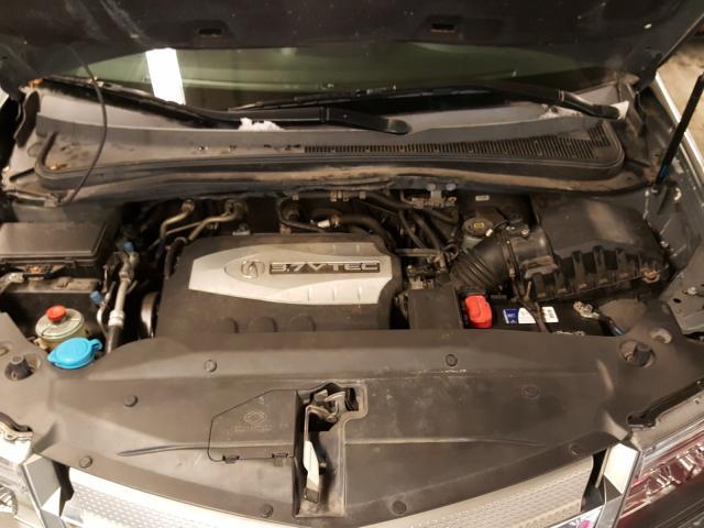 2008 Acur Mdx Gray  - engine