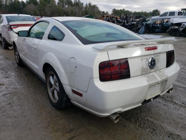 2006 Ford Mustang White  - rear left view