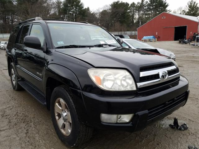 2005 Toyota 4runner Sr Black  - front right view