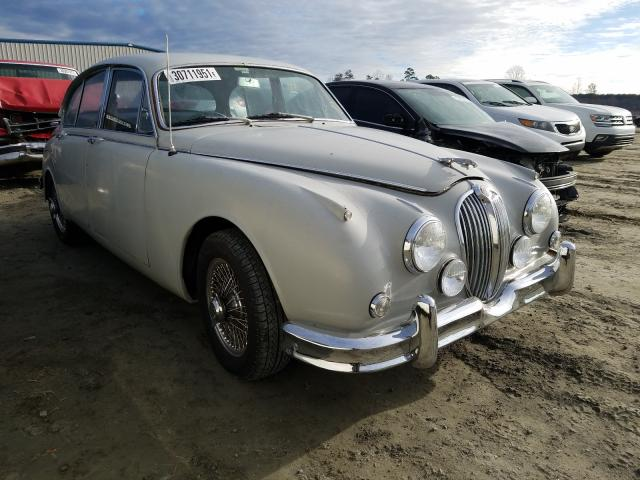 1966 Jaguar Mk Ii Silver  - front right view