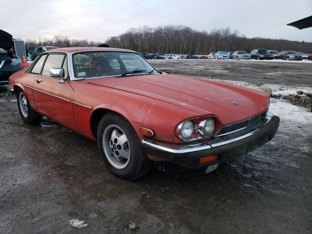 1985 Jagu Xjs Red  - front right view