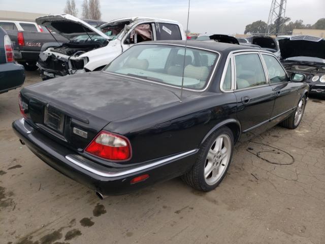 1999 Jagu Xjr Black  - rear right view