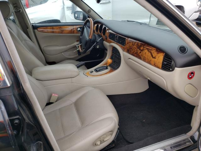 1999 Jagu Xjr Black  - interior - front