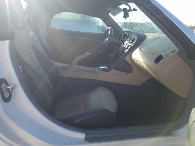 2007 Pontiac Solstice White  - interior - front