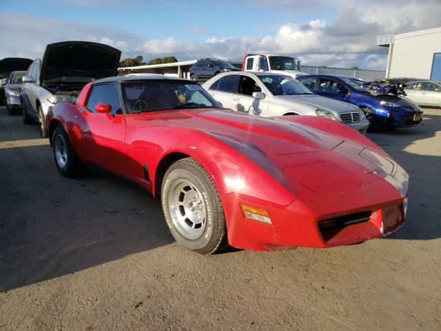 1981 Chevrolet Corvette Red  - front right view