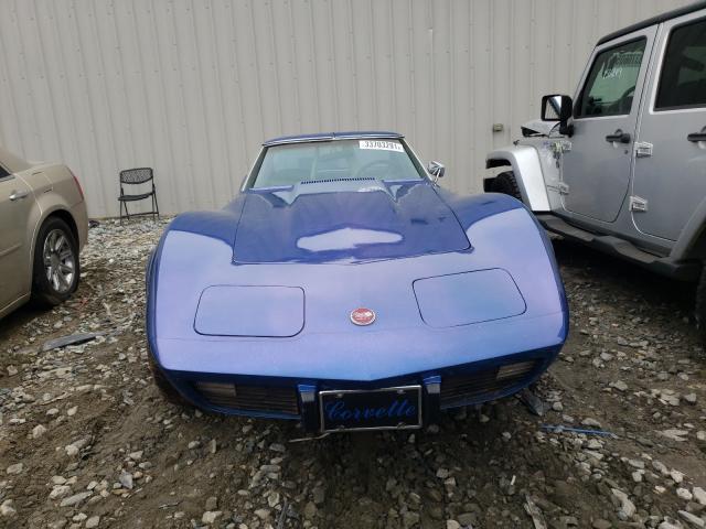 1975 Chevrolet Corvette Blue