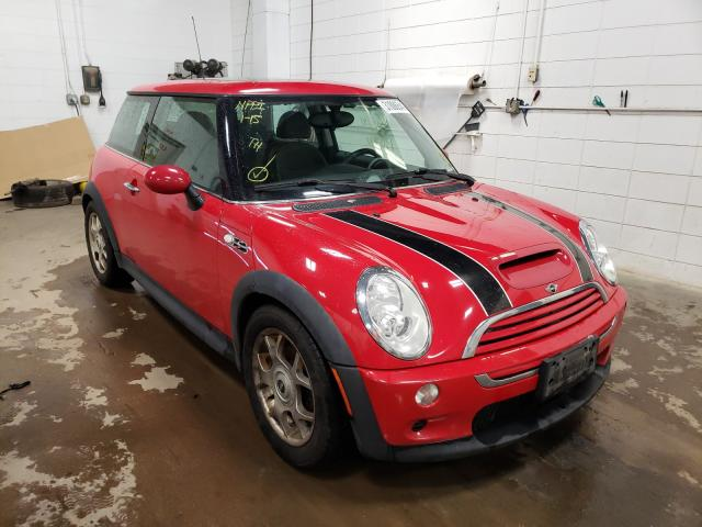 2005 Min Cooper S Red  - front right view