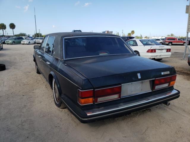 1991 Rol Silver Ser Black  - rear left view