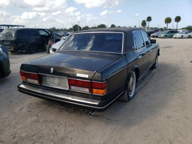 1991 Rol Silver Ser Black  - rear right view