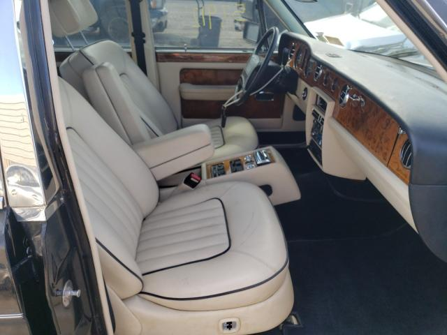 1991 Rol Silver Ser Black  - interior - front