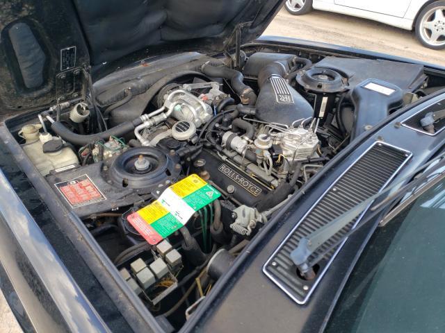1991 Rol Silver Ser Black  - engine