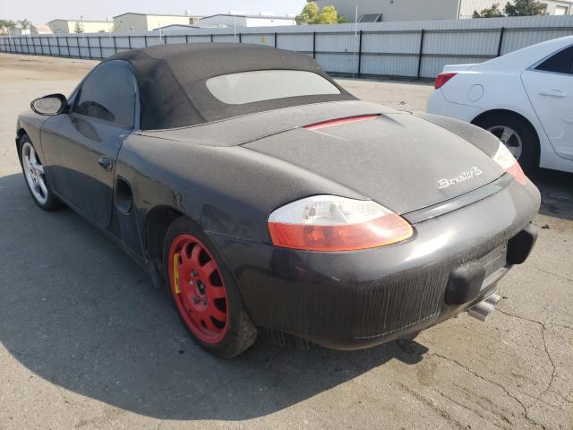 2002 Porsche Boxster S Black  - rear left view