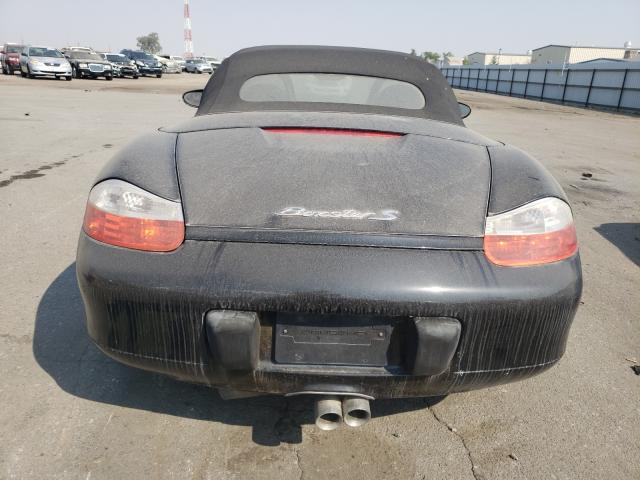 2002 Porsche Boxster S Black  - back view