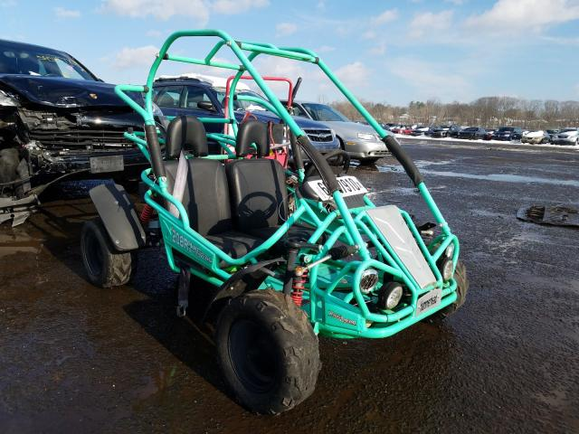 2015 Othr Go Cart Green  - front right view