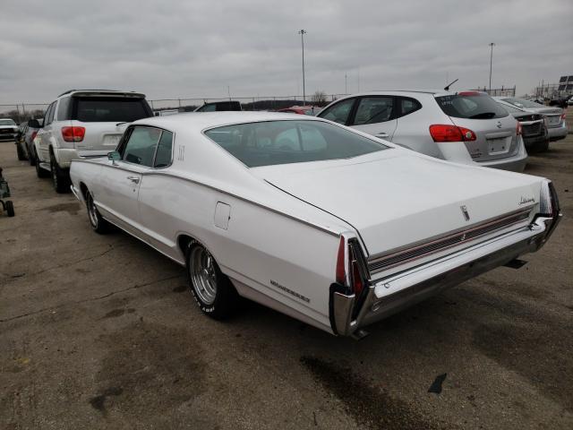 1968 Merc Monterey White  - rear left view