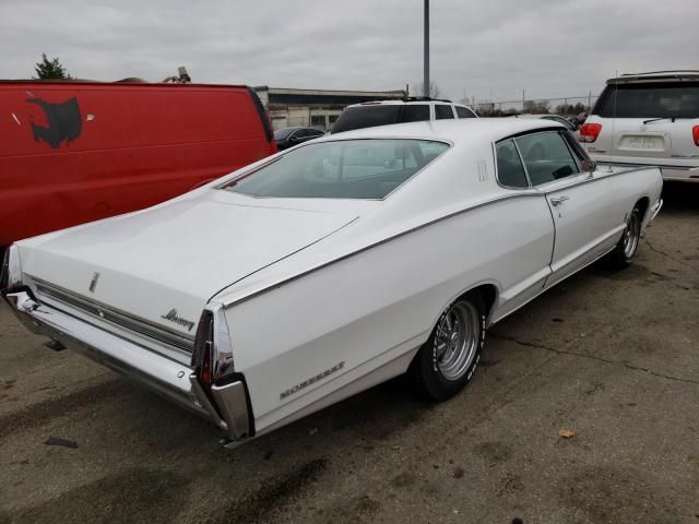 1968 Merc Monterey White  - rear right view
