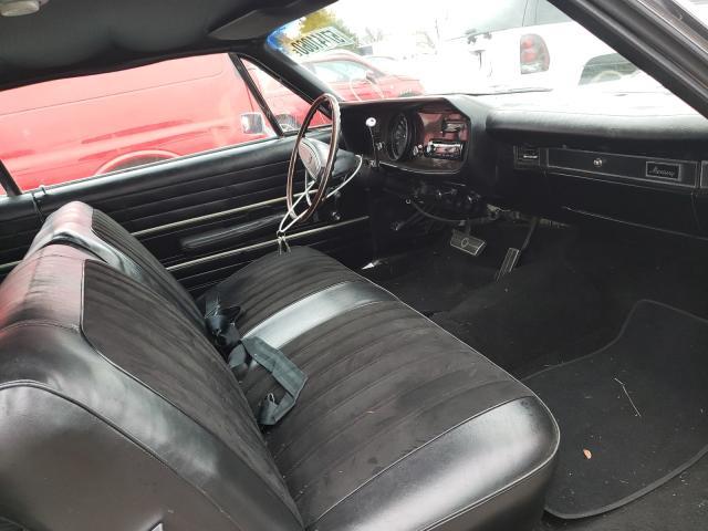 1968 Merc Monterey White  - interior - front