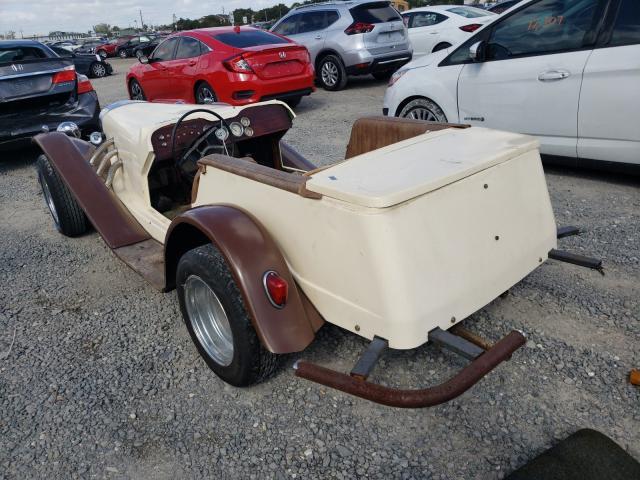 1974 Volkswagen Beetle Tan  - rear left view