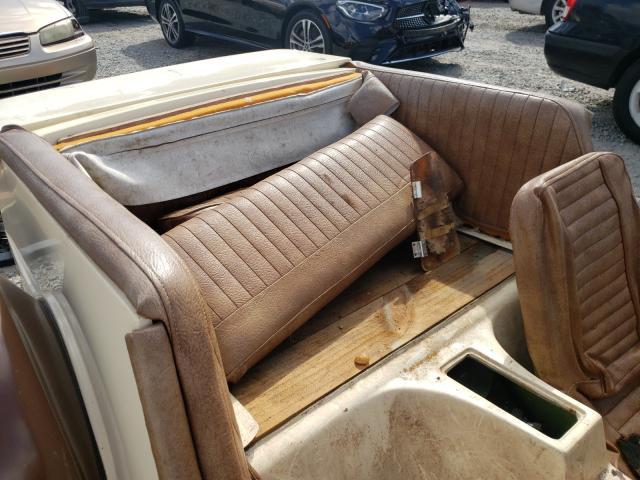 1974 Volkswagen Beetle Tan  - back view