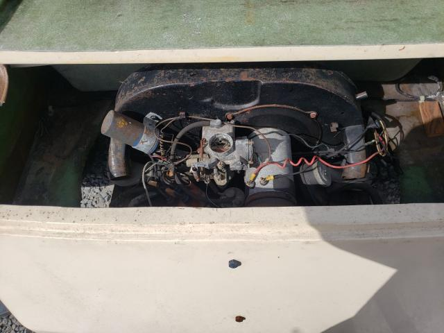 1974 Volkswagen Beetle Tan  - engine