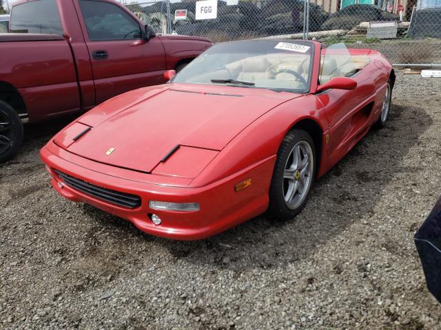 1986 Pontiac Fiero Se Red  - front left view