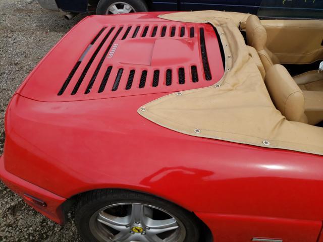 1986 Pontiac Fiero Se Red  - back view