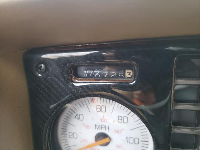 1986 Pontiac Fiero Se Red  - odometer