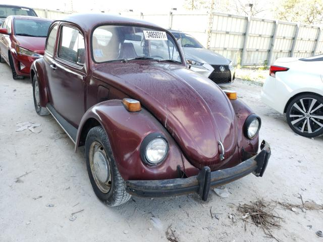 1972 Volkswagen Beetle Red  - front right view
