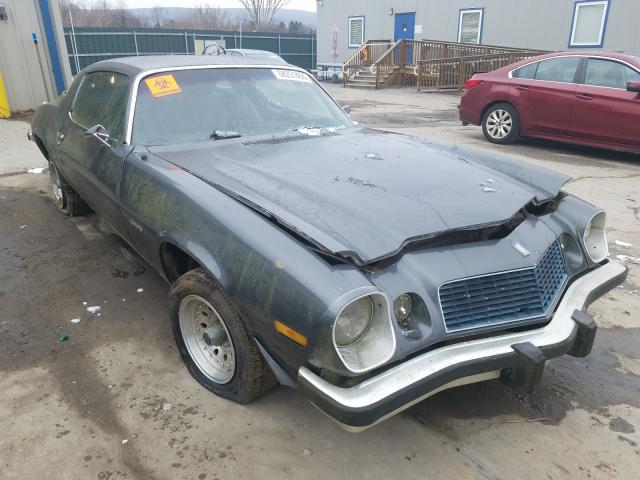 1975 Chevrolet Camaro Gray  - front right view