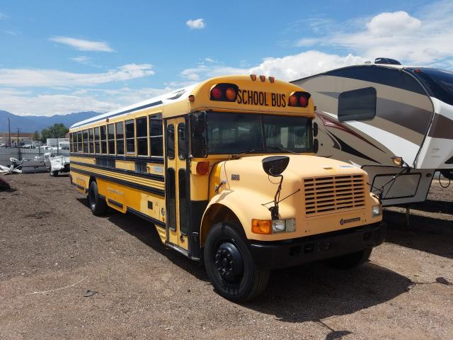 1997 Blub School Bus Yellow  - front right view