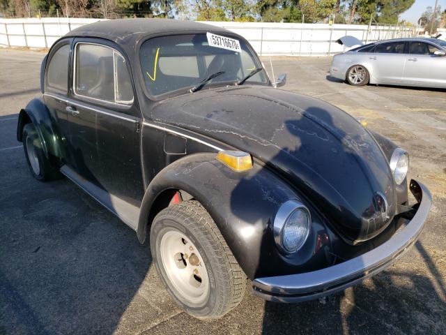 1970 Volkswagen Beetle Black  - front right view