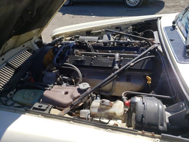 1987 Jaguar Xj6 White  - engine