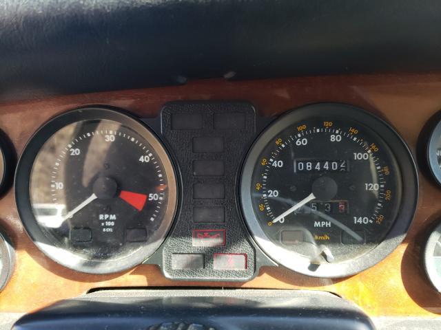 1987 Jaguar Xj6 White  - odometer
