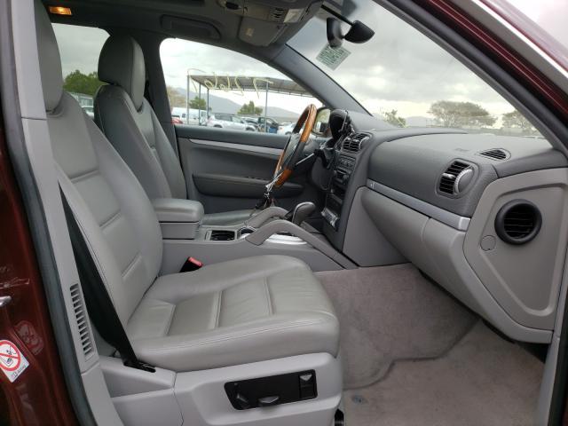 2004 Porsche Cayenne S Burgundy  - interior - front