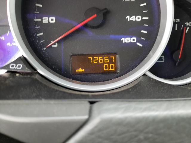 2004 Porsche Cayenne S Burgundy  - odometer