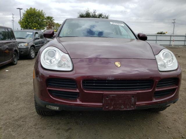2004 Porsche Cayenne S Burgundy