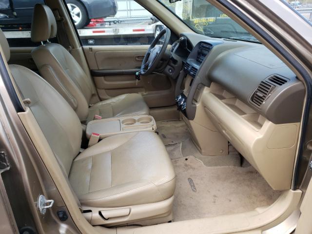 2006 Honda Cr-v Se Beige  - interior - front