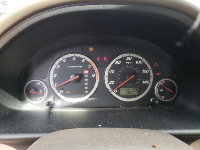 2006 Honda Cr-v Se Beige  - odometer