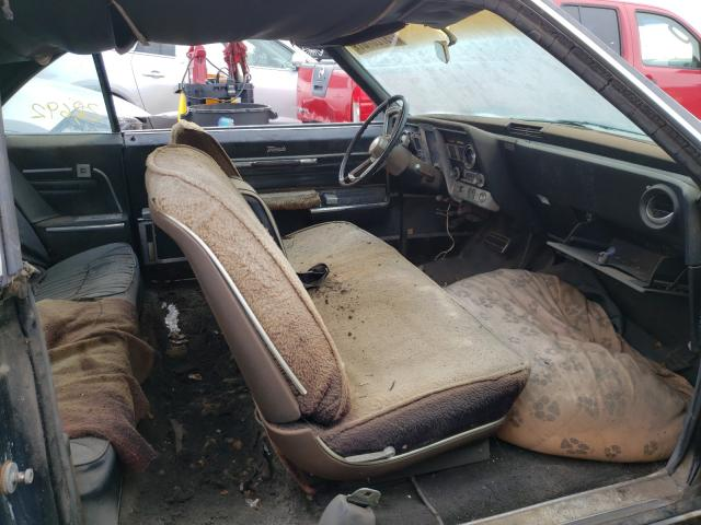 1966 Oldsmobile Toronado Blue  - interior - front