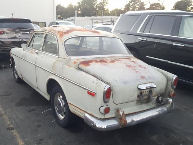 1967 Volvo Car Green  - rear left view